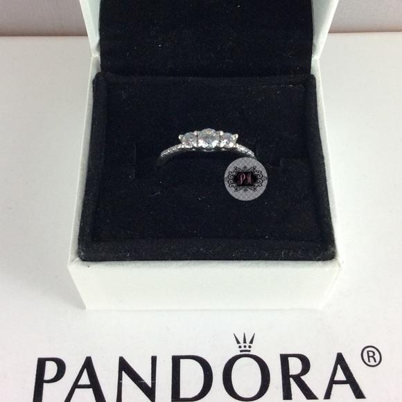 c7bdd1ad0 New Box Pandora Fairytale Sparkle Rings. M_5a4f378af9e50185d300021f